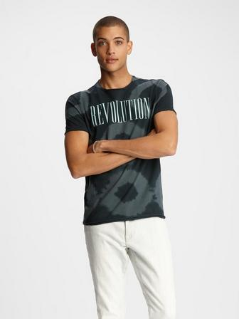 RAW EDGE SS TEE - REVOLUTION