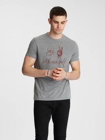 GO PEACE YOURSELF TEE