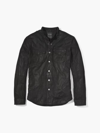THE SUEDE SHIRT JACKET