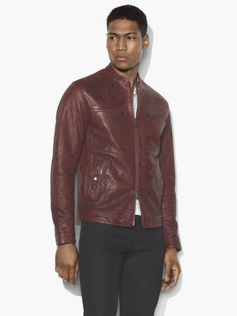 MODERN RACER LEATHER JACKET