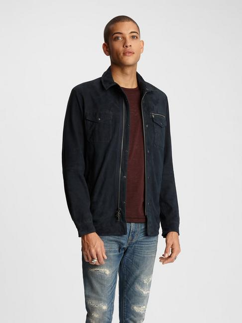 SHILO SUEDE SHIRT JACKET