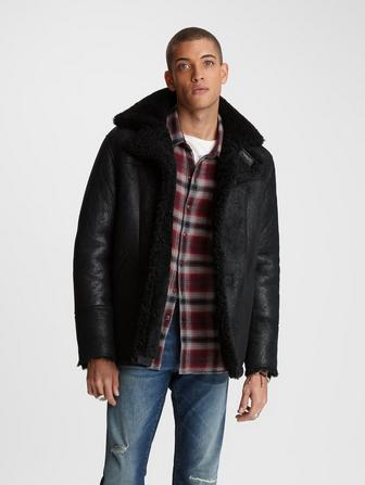 ROPER SHEARLING JACKET