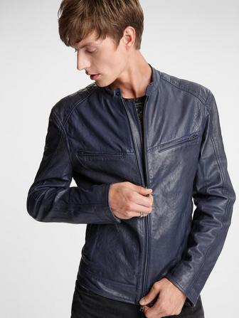 Starman Leather Racer Jacket