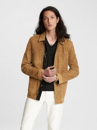 Workwear Suede Jacket