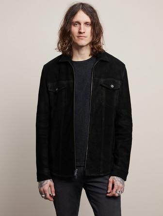 DAVIS ZIP FRONT SHIRT JACKET