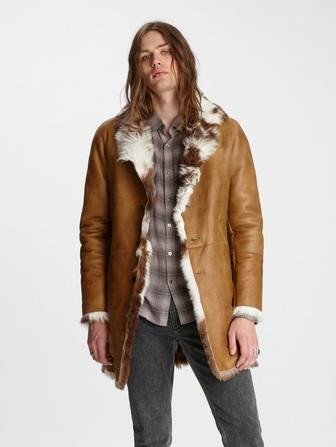 Limited Edition Shearling Coat
