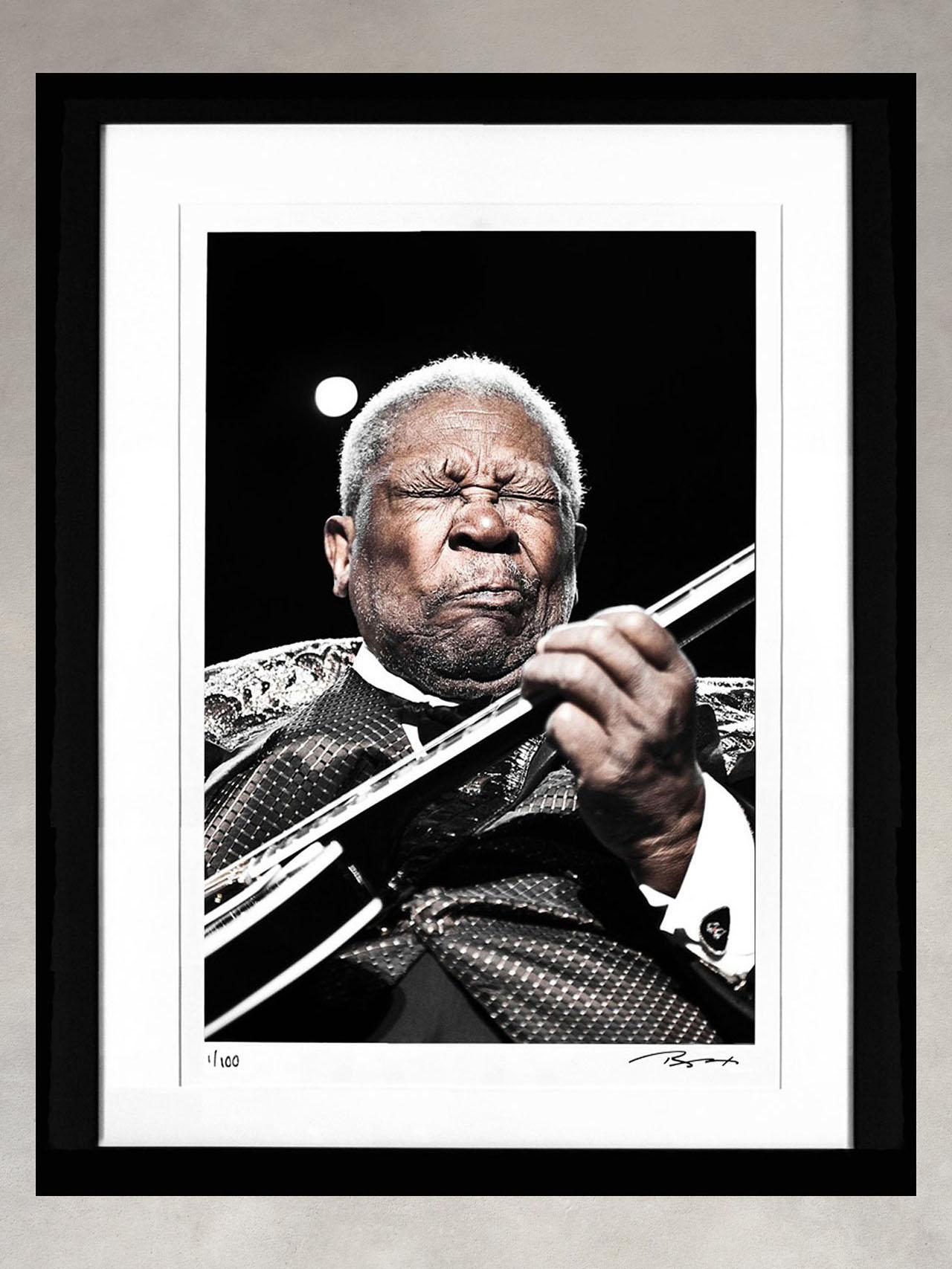 B.B. King by Jerome Brunet