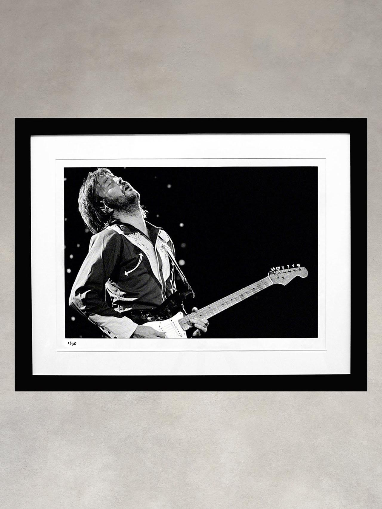 Eric Clapton by Ron Pownall