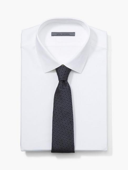 Silk Retro Circle Tie