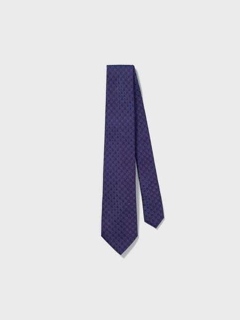 Wide Silk Patterned Tie