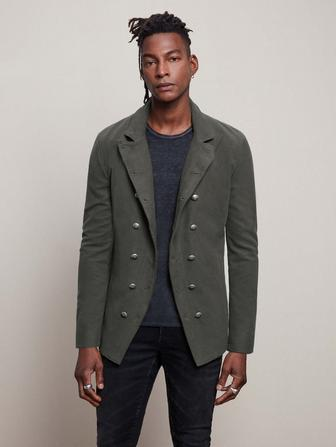 SLIM FIT CUT AWAY JACKET