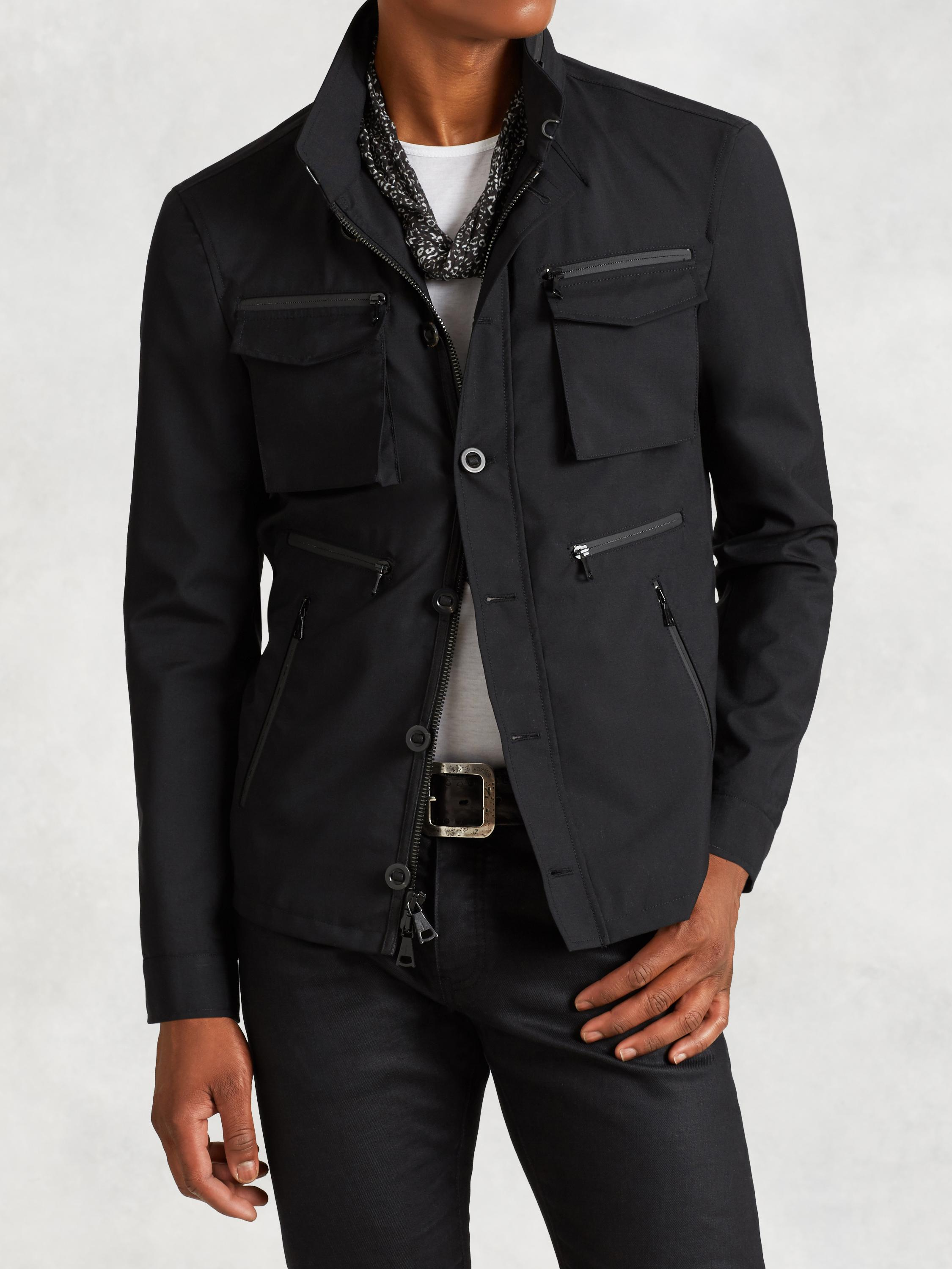 4-Pocket Water Repellent Jacket