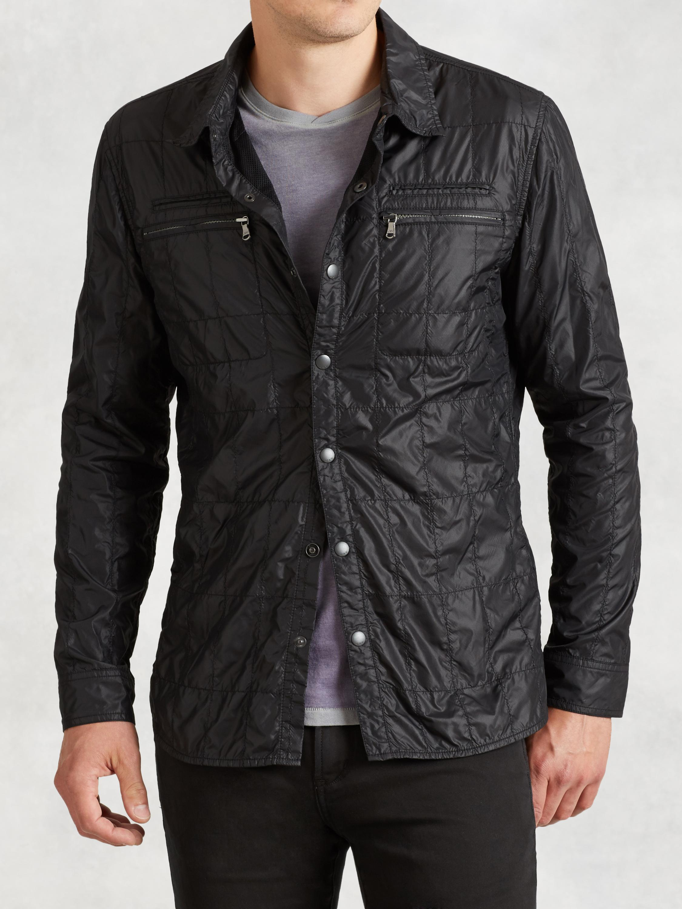 Quilted Shirt-Jacket