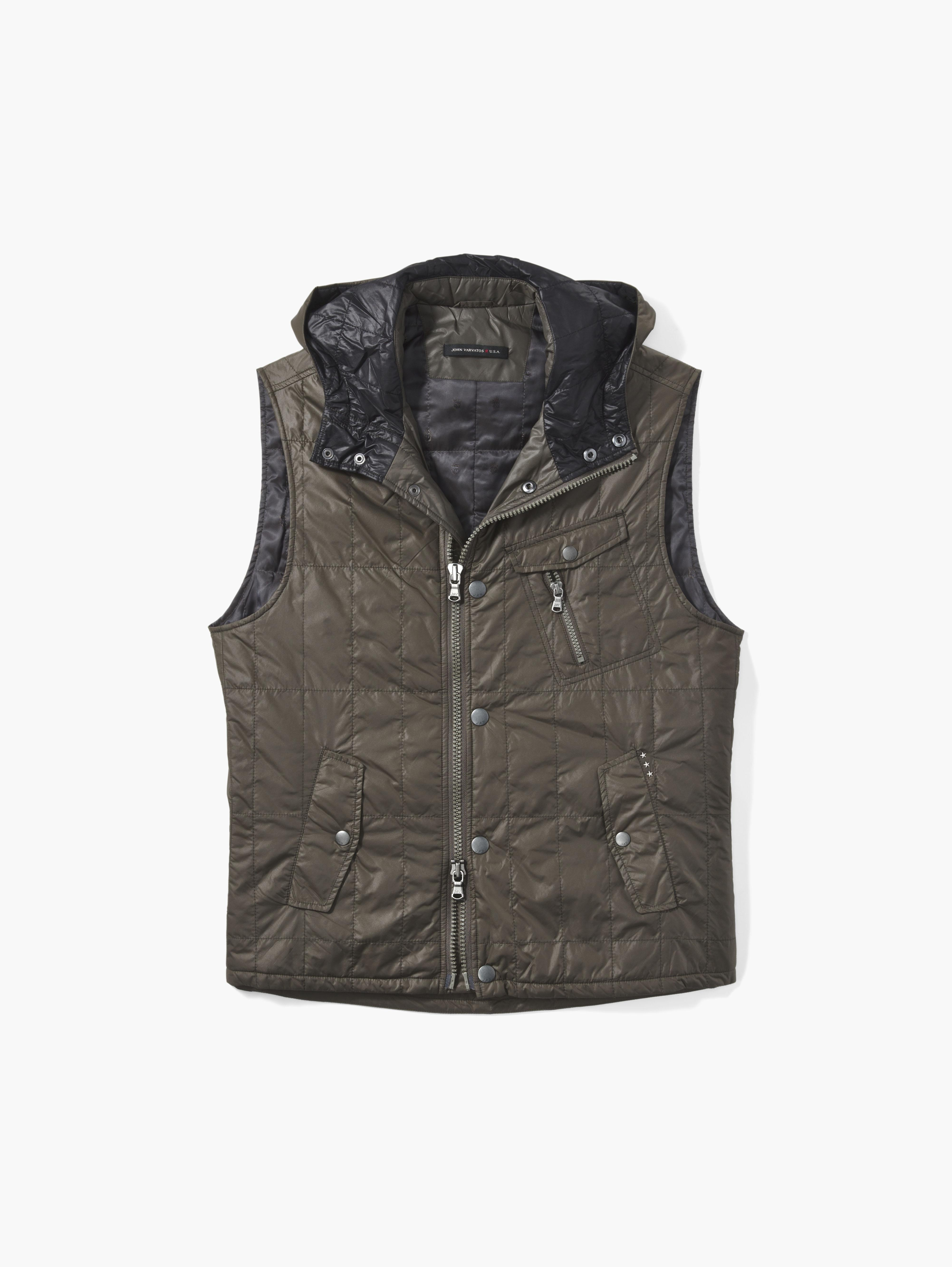 Quilted Military Vest