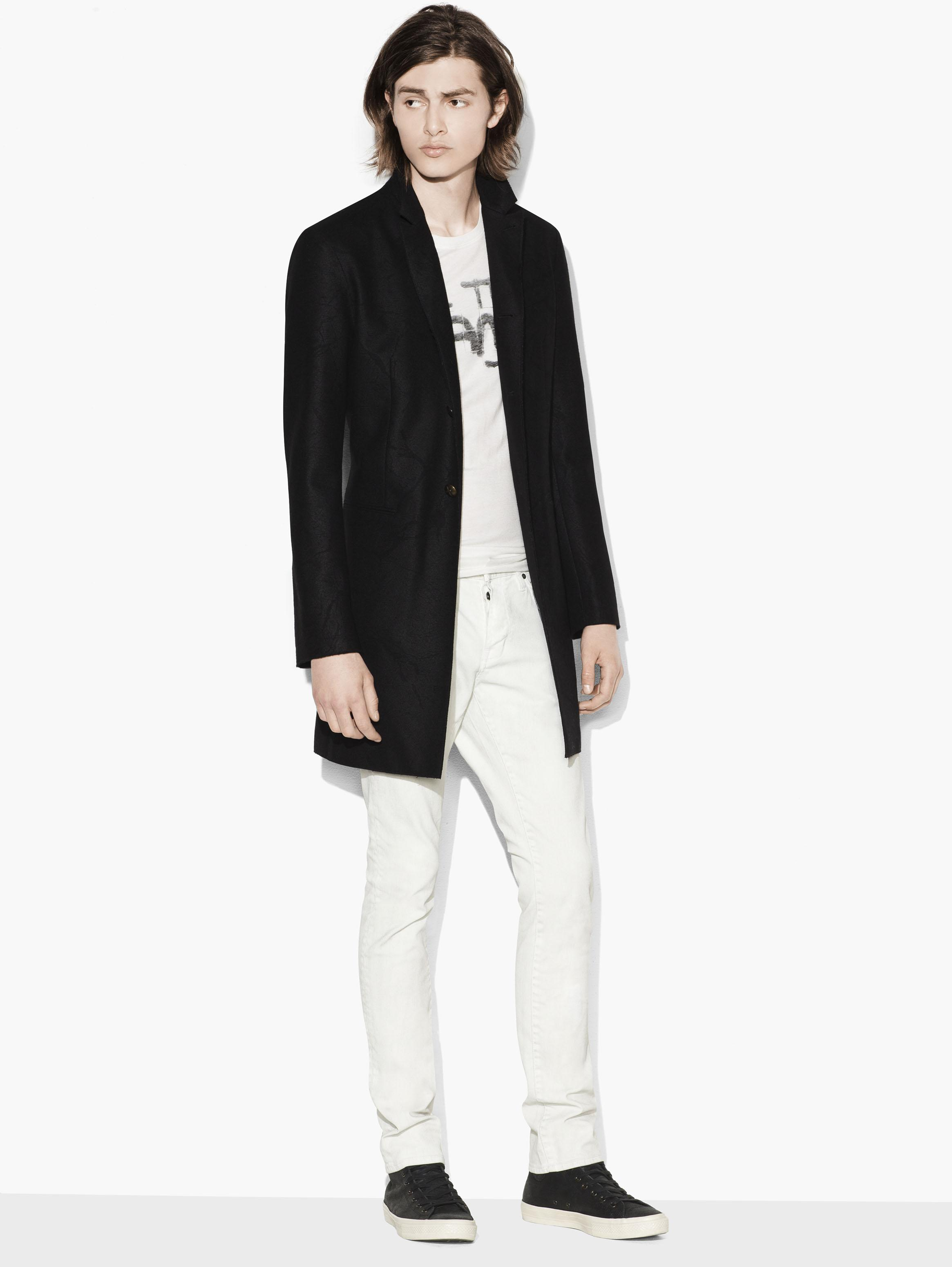 Abstract Tonal Coat