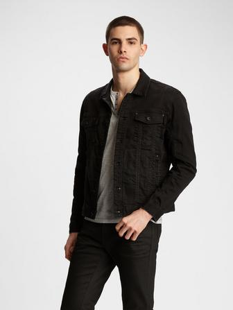 Dark Rider Denim Trucker Jacket