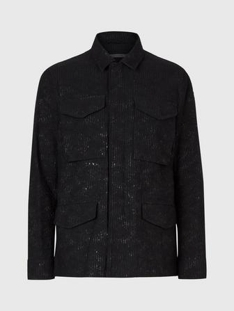 JACQUARD FIELD JACKET