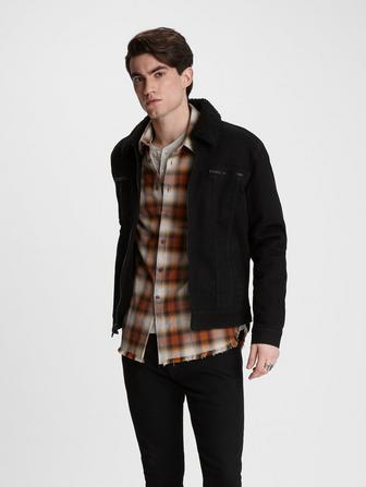 ANDY SHERPA TRUCKER JACKET