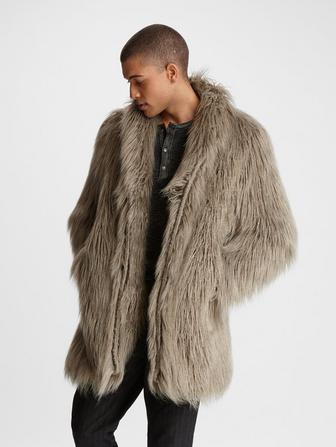 FREDDY FAUX FUR COAT