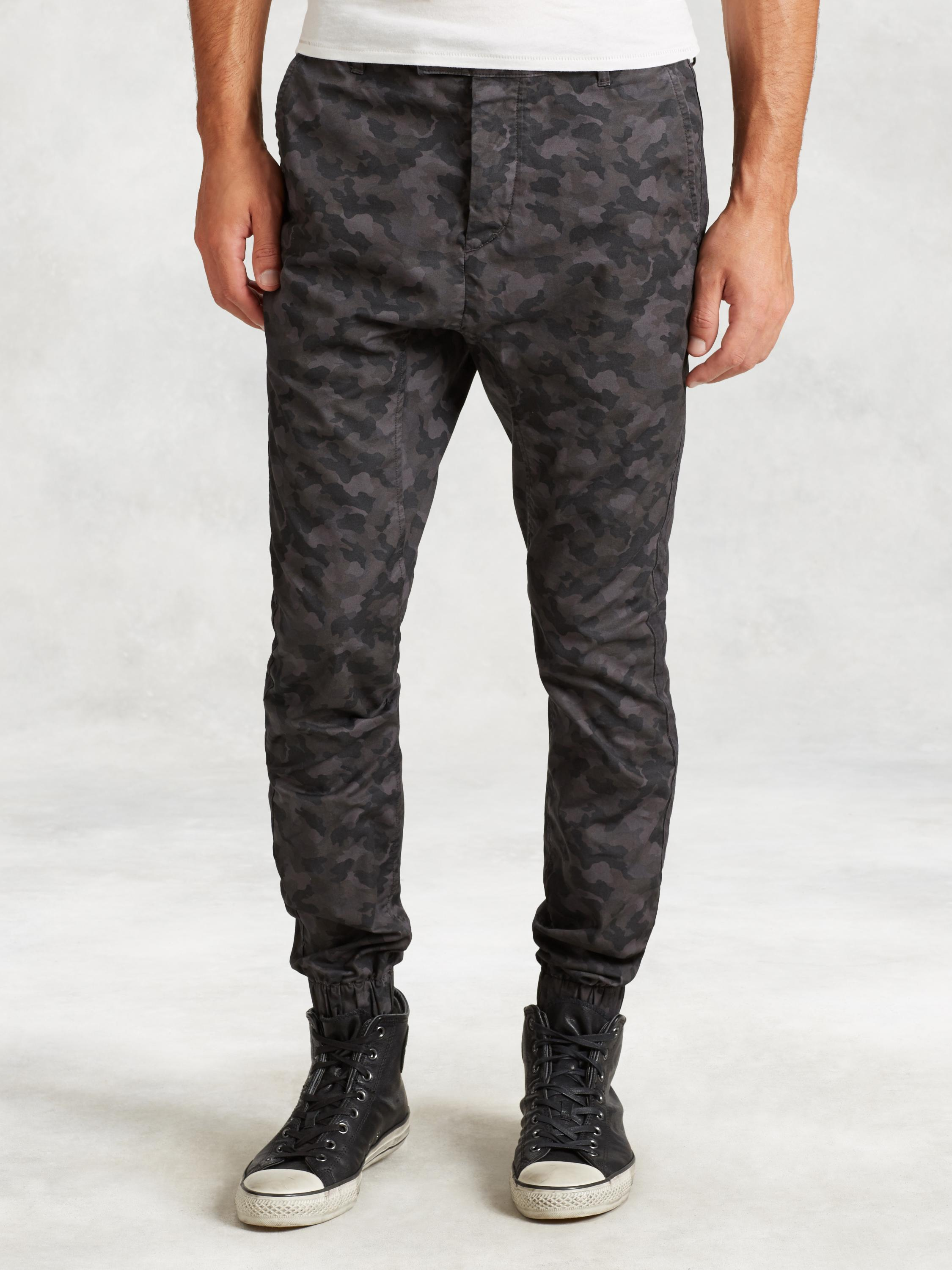 Cotton Camo Everly Pant
