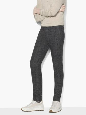 ABSTRACT JACQUARD PANT