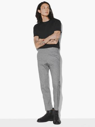 REGULAR FIT TAPERED BOTTOM PANT