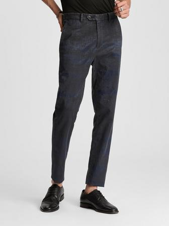 ABSTRACT JACQUARD ESSEX PANT
