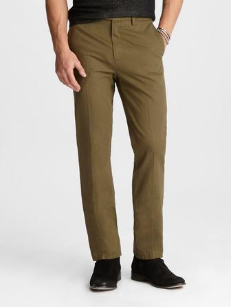 COTTON-LINEN WARREN PANT