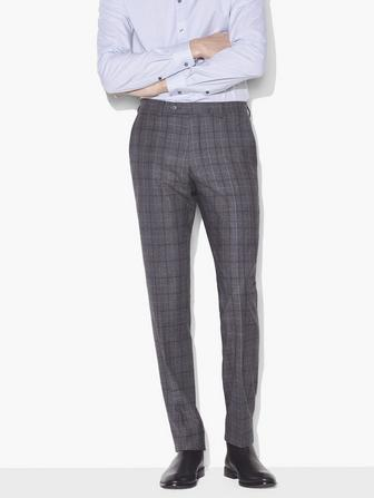 BLEEKER ST WINDOWPANE PANT