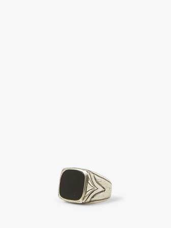 Onyx & Silver Ring