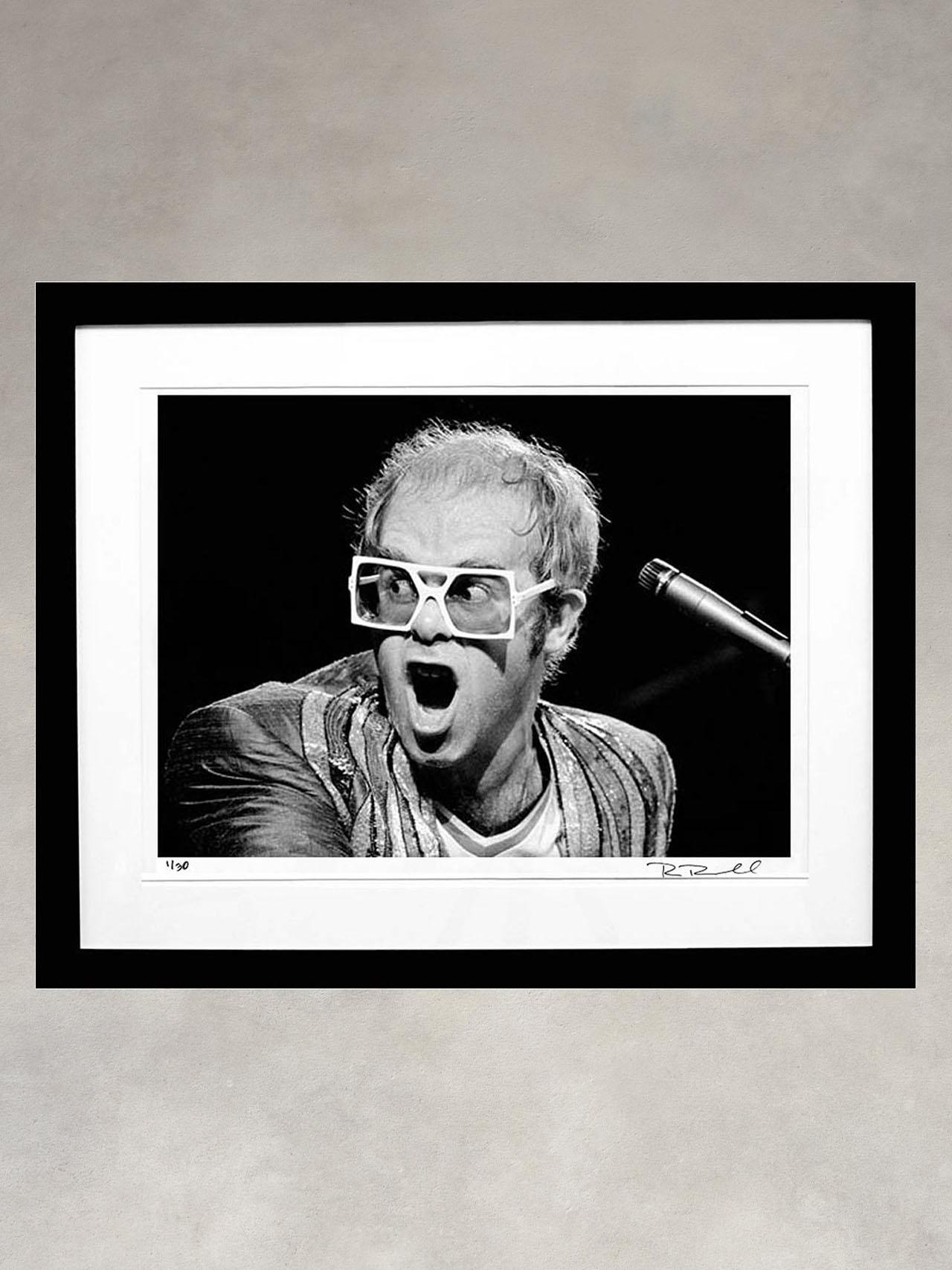 Elton John by Ron Pownall