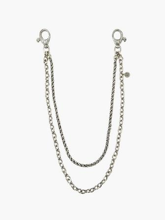 Double Strand Wallet Chain