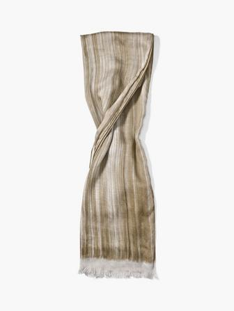 WOVEN CRINKLED PATTERNED SCARF