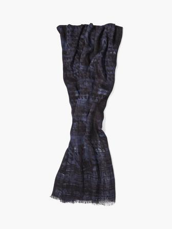 ABSTRACT PATTERNED SCARF