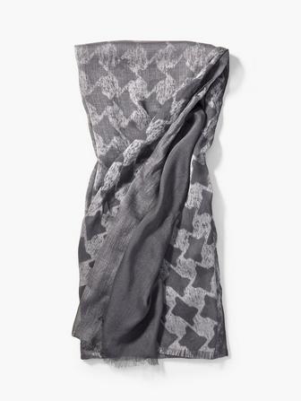 Ombre Houndstooth Scarf