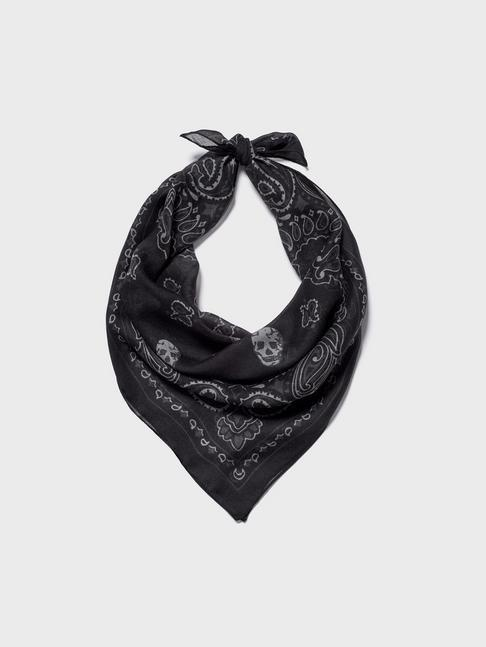 SKULL AND PAISLEY BANDANA
