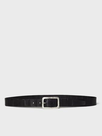 SEAMED PANEL BELT