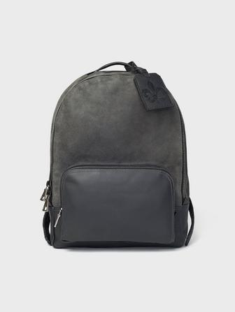 ELDRIDGE SUEDE BACKPACK