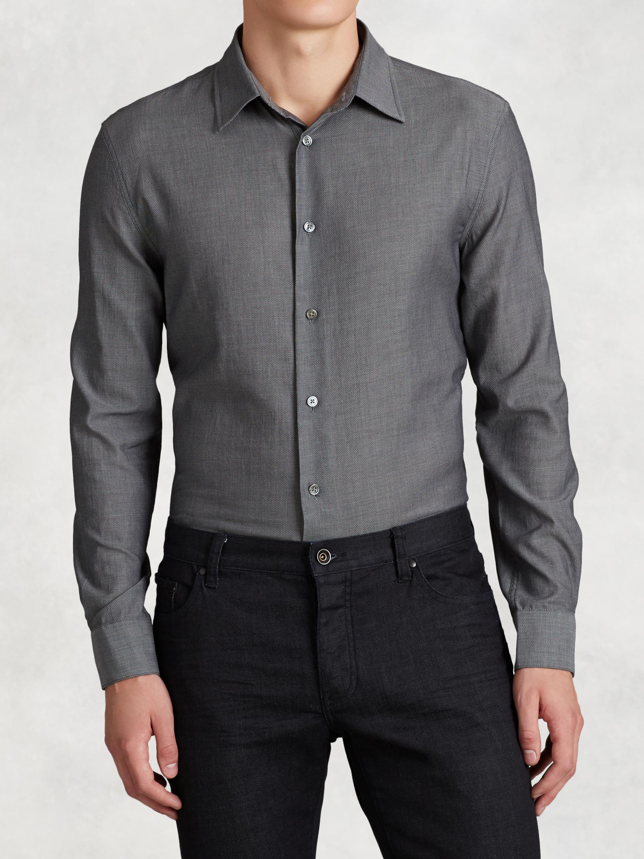 Cotton Shirt John Varvatos