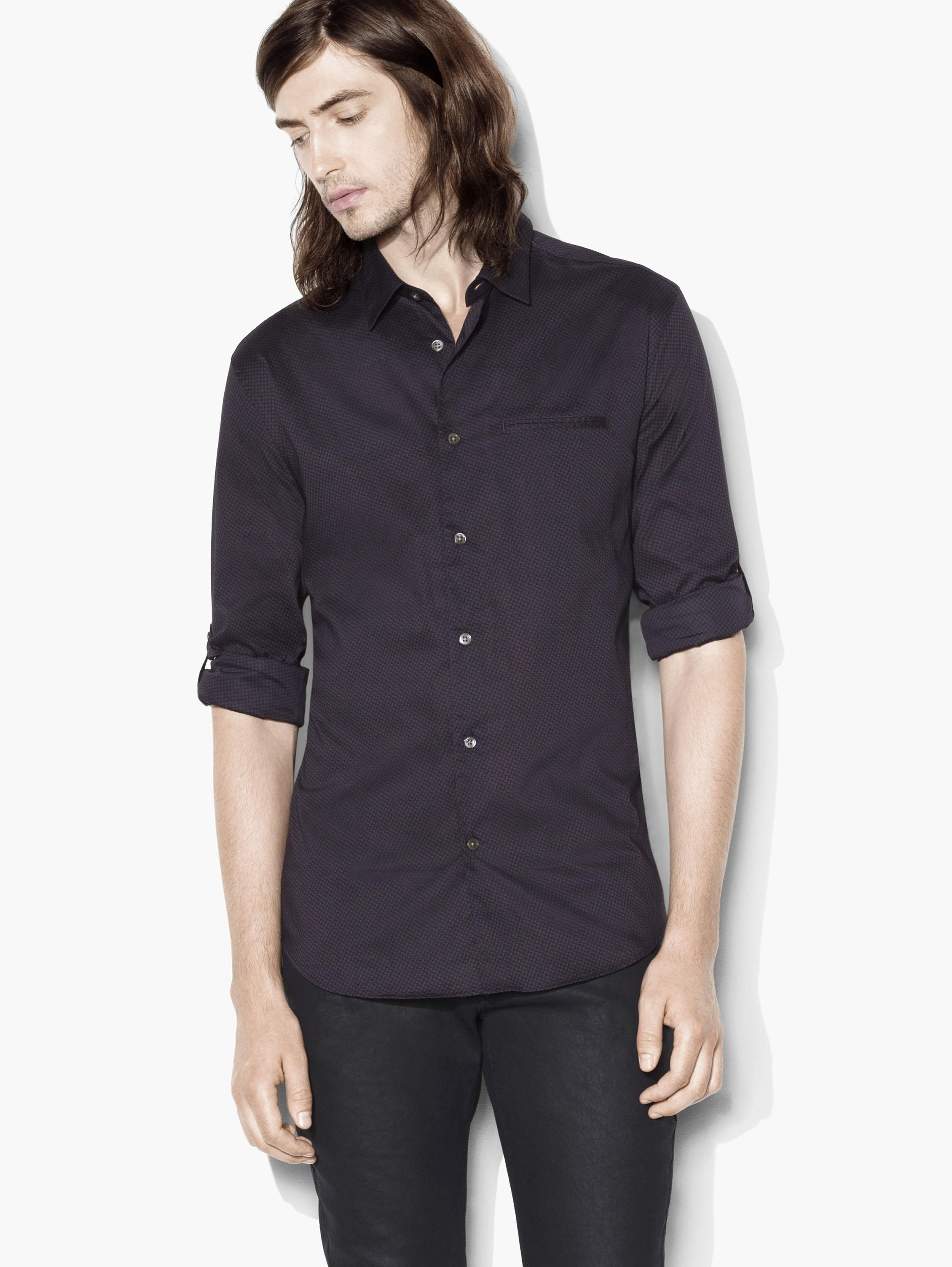 Slim Fit Button-Up Shirt