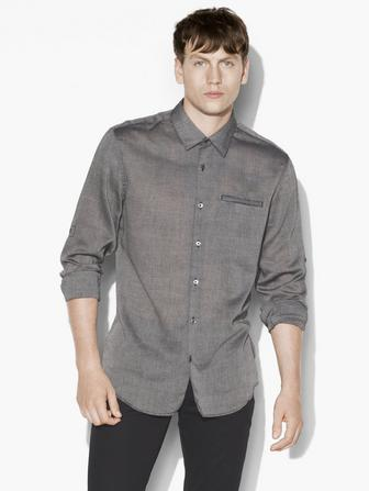 ROLL-UP SLEEVES SHIRT