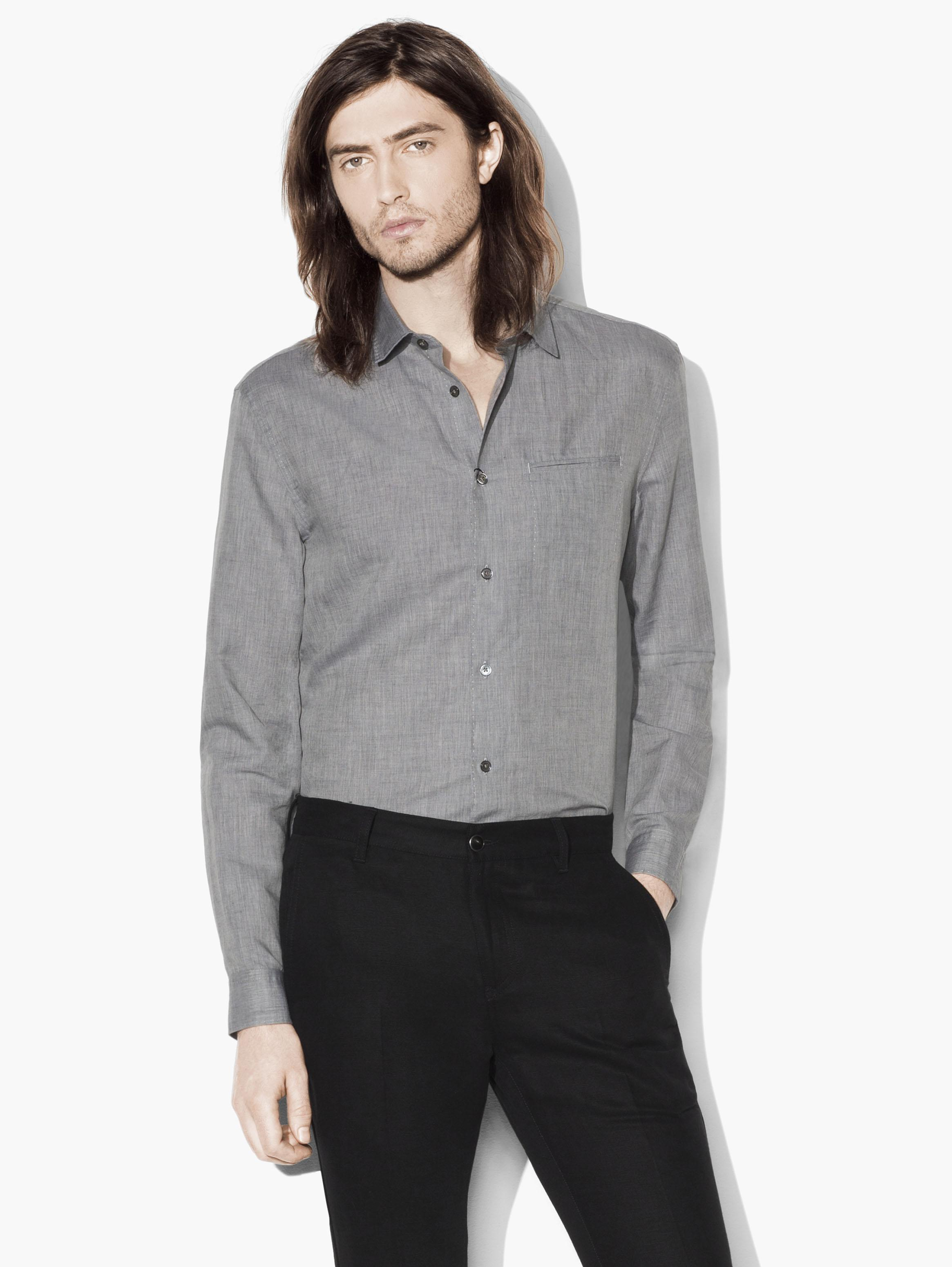 Linen Cotton Sport Shirt