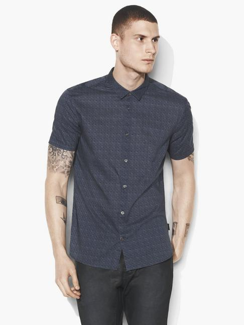 Foulard Short Sleeve Shirt