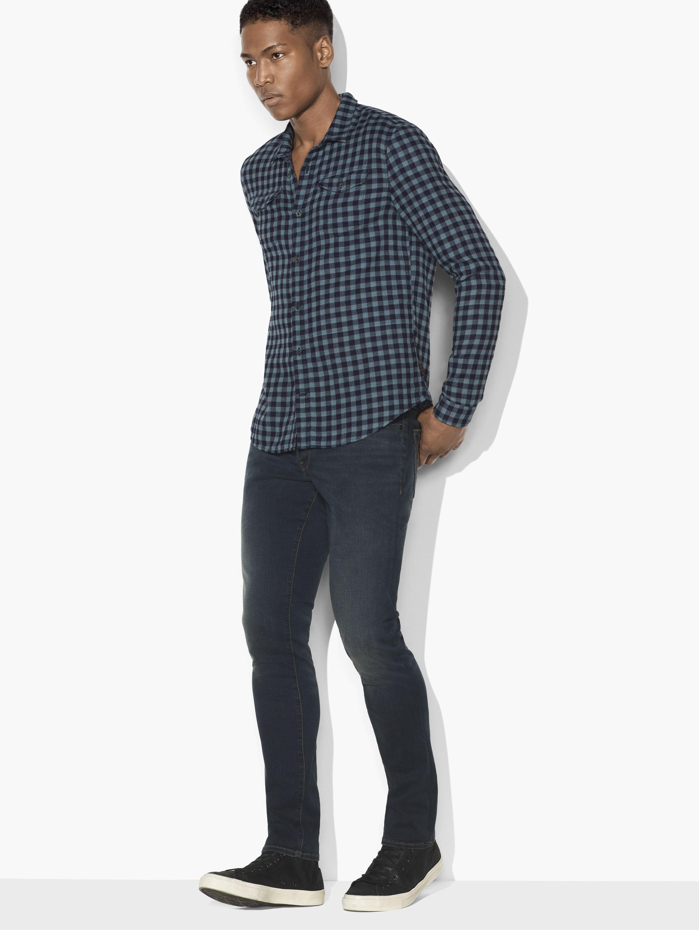 DOUBLE-FACE CHECK SHIRT
