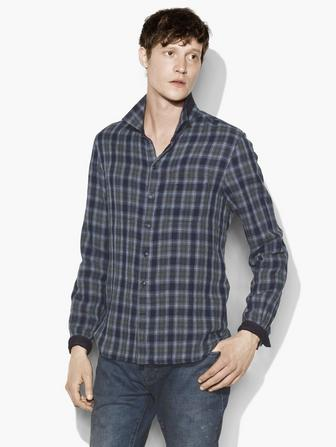 REVERSIBLE PLAID SHIRT