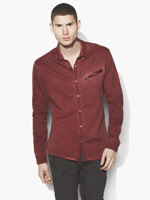 Dyed Snap Button Shirt