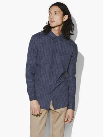 ROLL SLEEVE CHECK SHIRT