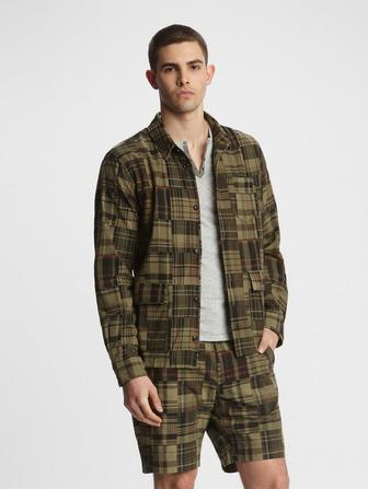 DARREN PATCHWORK SHIRT