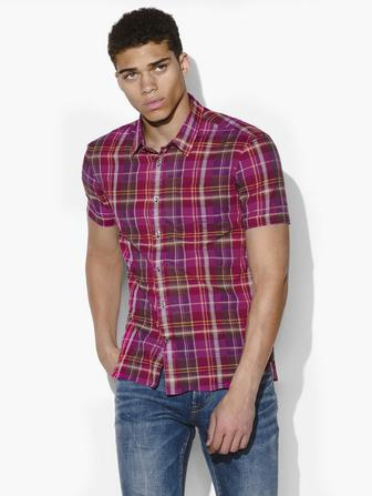 CLYDE PLAID SHIRT