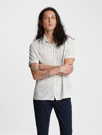 Abstract Short Sleeve Shirt
